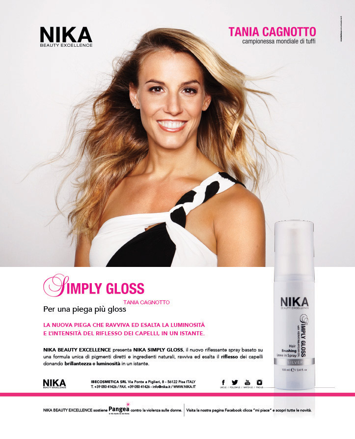 "PIANO MARKETING PER LANCIO PRODOTTO | NIKA BEAUTY EXCELLENCE ""SIMPLY GLOSS"""